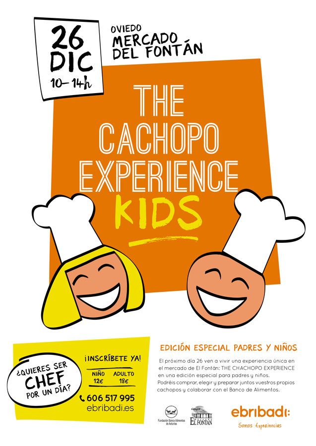 Cartel The Cachopo Experience Kids
